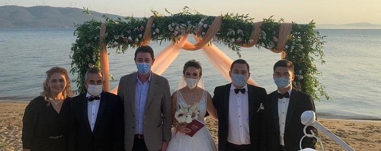 Başkandan oğluna milyonluk düğün