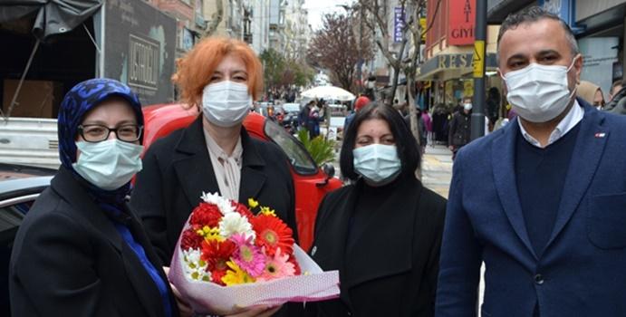 MKYK Üyesi Uygur'un Bandırma ziyareti