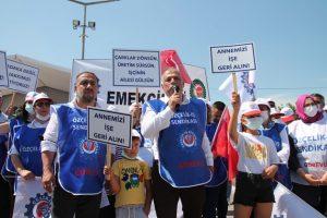 """İşçilerden Adin'e son uyarı: """"mücadeleyi büyüteceğiz"""""""