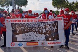 Büyük İşçi Yürüyüşünün 51.yılı