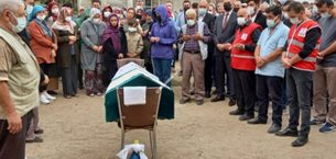 Trafik kazasında yaşamını yitiren Kaçal defnedildi