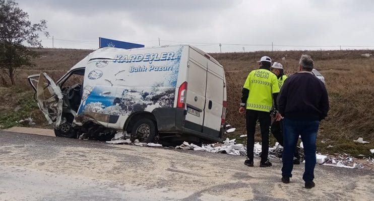 Bandırma'da kaza :2 ölü